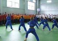 В Белореченске в школе открыли новый спортивный зал, фото — «Рекламы Белореченска»