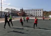 Футбольную академию для заключенных открыли в исправительной колонии Апшеронска, фото — «Рекламы Апшеронска»