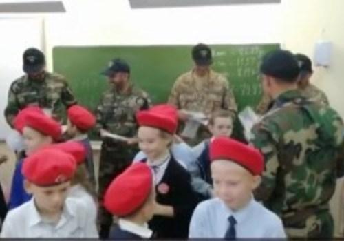 В Горячем Ключе военные из Пакистана посетили школу