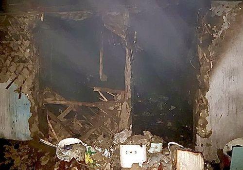 Женщина погибла в пожаре в Белореченске ФОТО
