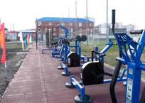 В Крымске построили спортивную площадку ГТО, фото — «Рекламы Крымска»