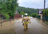 Реки вышли из берегов: в Апшеронском районе подтоплены дворы, дома и мост , фото — «Рекламы Апшеронска»