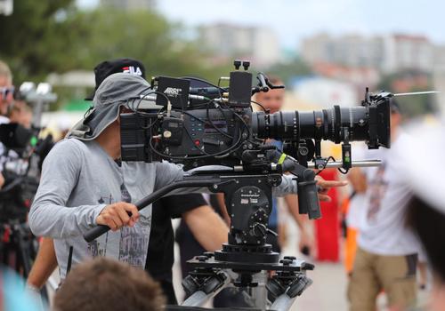 Известные актеры были замечены на Центральной площади Геленджика