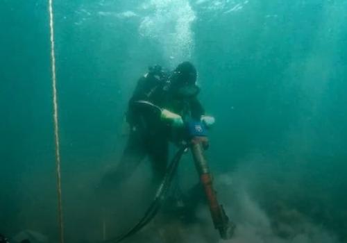 В Геленджике начали строить глубоководный выпуск сточных вод в море