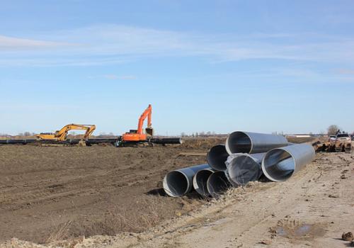 На Кубани началось строительство нового участка водопровода для обеспечения курортов