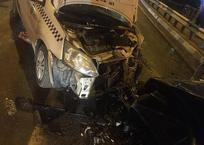 В Армавире таксист-наркоман устроил ДТП на встречке, фото — «Рекламы Армавира»
