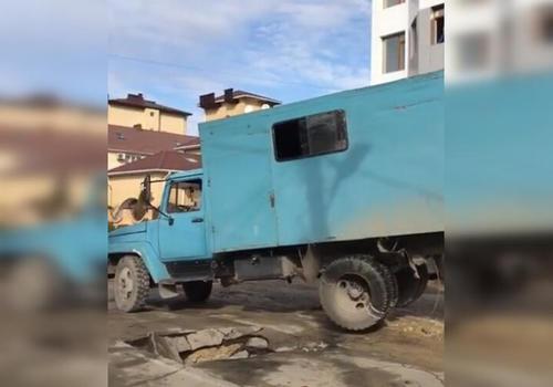 В Анапе без воды остались 20 домов ВИДЕО