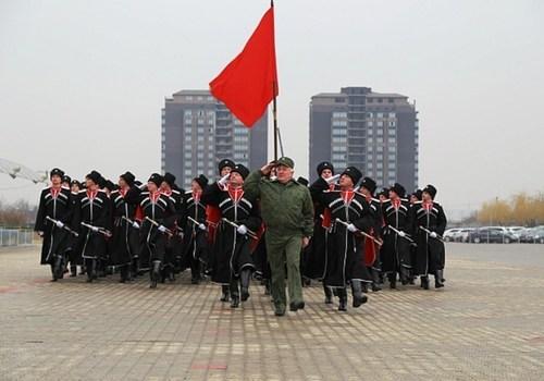 105 кубанских казаков примут участие в Параде Победы на Красной площади Москвы