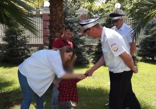 Кубанские полицейские помогли спасти жизнь двухлетнему ребенку