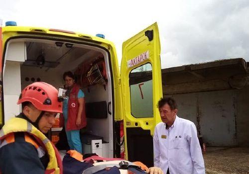 На Кубани с нефтеналивного танкера эвакуировали моряка с инсультом ФОТО