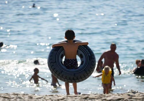 В Гидрометцентре назвали курорты Кубани с самой теплой морской водой