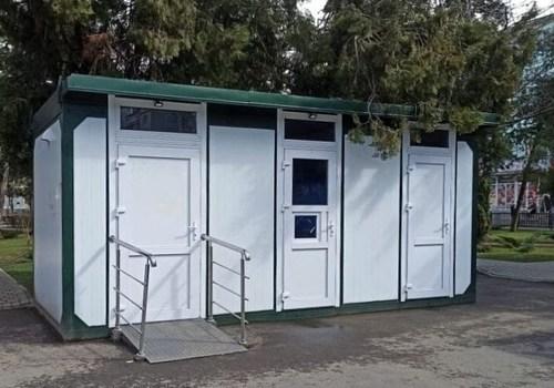 Бесплатный туалет установят в краснодарском сквере «Студенческий»