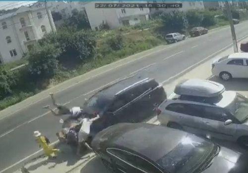 Водитель, сбивший на Кубани шесть человек, рассказал о причинах аварии ВИДЕО