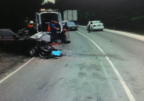 В ДТП под Туапсе мужчина получил серьезные травмы