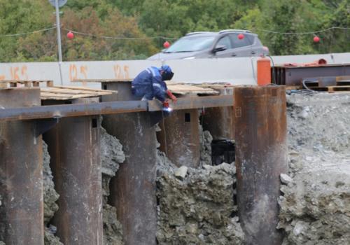 В Геленджике из-за строительства развязки меняется движение на трассе М-4 «Дон»