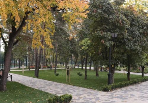 В Краснодаре открыли благоустроенный сквер имени Льва Толстого