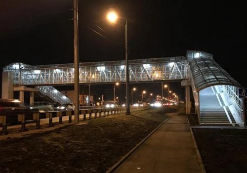 Кубань - территория безопасности: в Краснодаре построили ещё один надземный переход