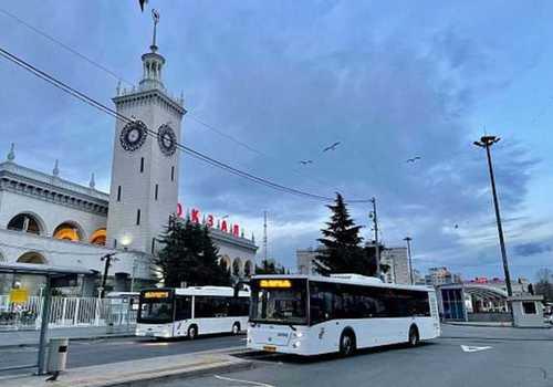 Между Адлером и Красной Поляной автобусы восьми маршрутов начинают передвигаться по новой схеме