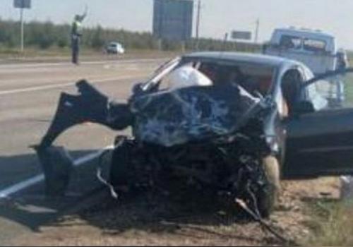 В Краснодарском крае в лобовом ДТП с КамАЗом погибла водитель «Ауди»