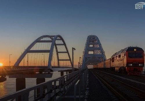 Крымские льготники могут бесплатно прокатиться на рельсобусе по Крымскому мосту только до Тамани