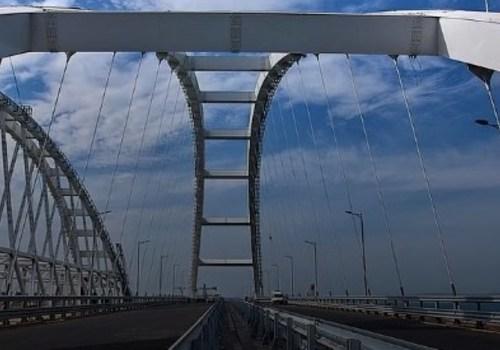 На Крымском мосту установили второй блокпост - со стороны Краснодарского края