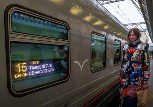 Запуск девяти пар поездов через Крымский мост отменили до лучших времен