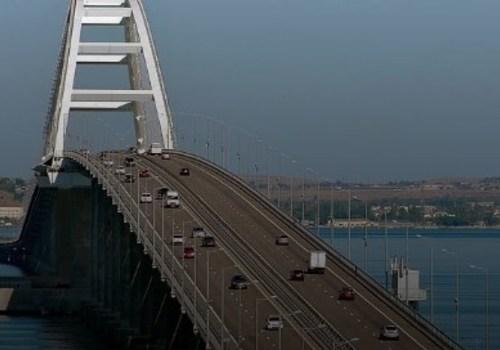 Ограничения проезда по Крымскому мосту с 18 мая сохранятся