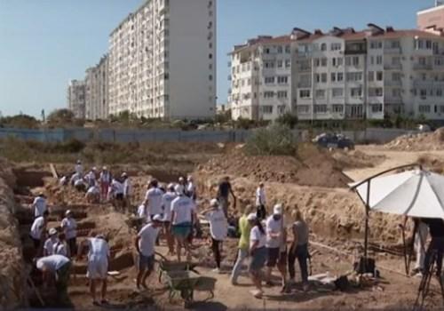 Участок античной дороги раскопали в Севастополе ВИДЕО