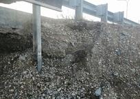 «Крымавтодор» приступил к ремонту обвала на трассе Дубки – Левадки, фото — «Рекламы Черноморского»
