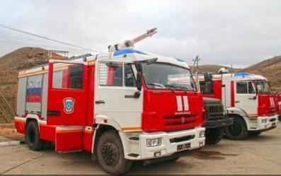 В Севастополе арестовали за долги пожарную машину
