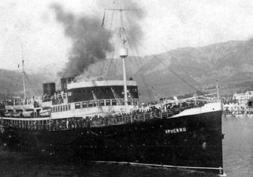 Погибший у берегов Крыма теплоход «Армения» начнут исследовать