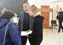 Поклонская на встрече с крымчанами выглядела уставшей и измученной ФОТО, фото — «Рекламы Партенита»