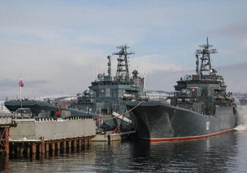 Корабли Северного флота РФ остались в Черном море после учений в Крыму