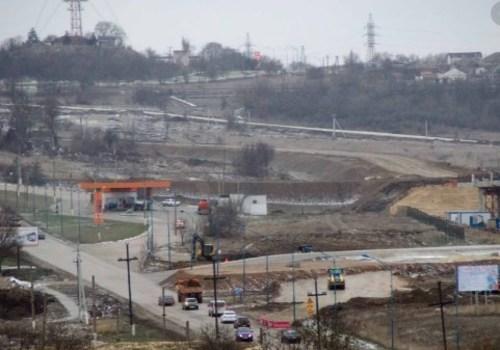 Съезд с Крымского моста в Керчь обещают сделать до конца 2022 года