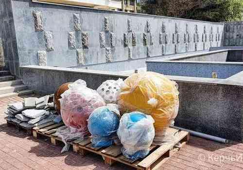 Когда запустят новый фонтан возле Дворца пионеров в Керчи