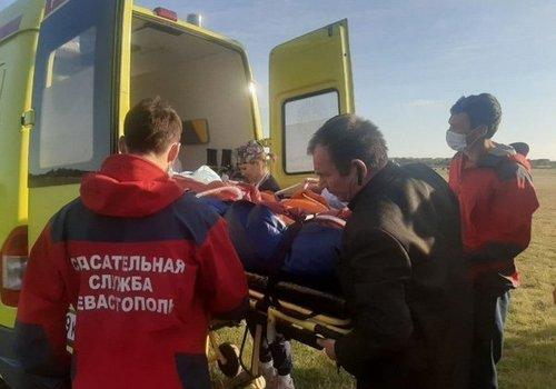 Пострадавшая на пожаре в Севастополе девочка доставлена в Краснодар