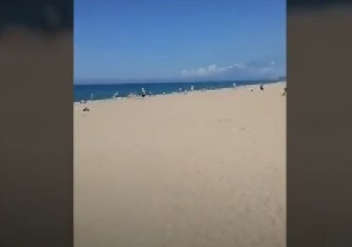 Туристы жалуются на запустение пляжа в Любимовке ВИДЕО