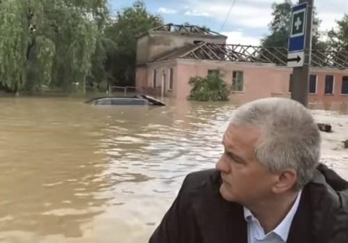 Природная катастрофа в Крыму: Керчь, Ленинский и Кировский район ушли под воду ВИДЕО