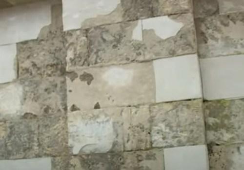 На парапетах кинотеатра «Победа» дорогие материалы подменили дешёвыми – документы ВИДЕО