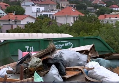 Адский вход на пляж «Баунти»: когда ликвидируют свалку в районе Фиолента? ВИДЕО