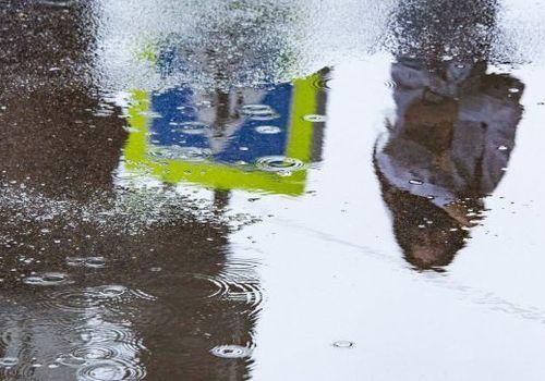 Потоп в Керчи с высоты птичьего полета ВИДЕО