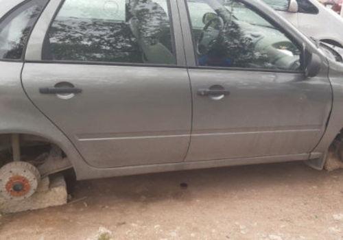 Задержан севастополец, воровавший колеса автомобилей ФОТО