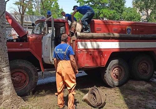 Третья группа спасателей из Ростова прибыла в Крым