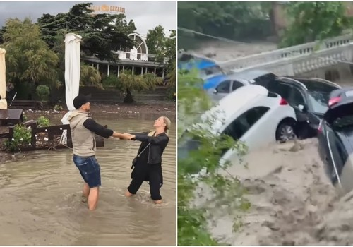 «Певец Данко хайпует на потопе Ялты»: Пользователей возмутил провокационный пост певца в соцсети