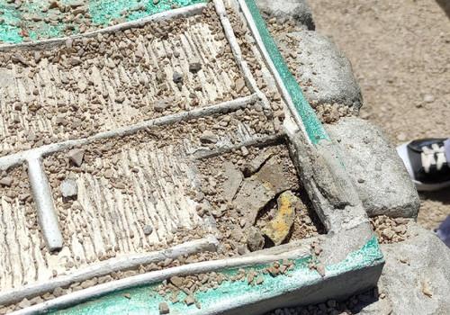 На месте древней усадьбы Херсонеса в Севастополе снова украли макет домика херсонесита