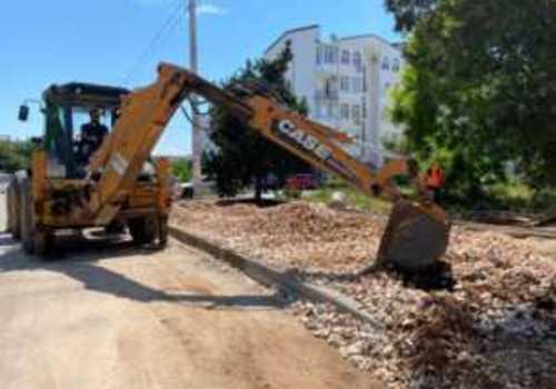 В Севастополе завершается капитальный ремонт дороги «Проспект Античный — улица Челнокова»