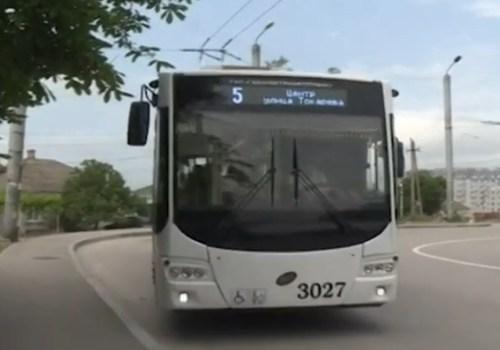 В Севастополе троллейбус №5 вернулся на маршрут ВИДЕО