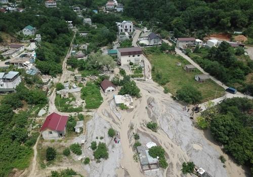 Ялта после наводнения: опубликованы шокирующие фото с воздуха ФОТО