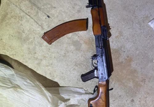 В Крыму силовики нашли у пенсионера пулемет, три ружья и револьвер