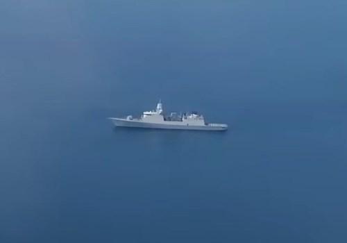 Истребители перехватили фрегат Нидерландов у Керченского пролива ВИДЕО